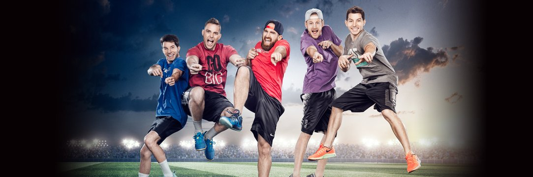 dude perfect show fire edition full episode