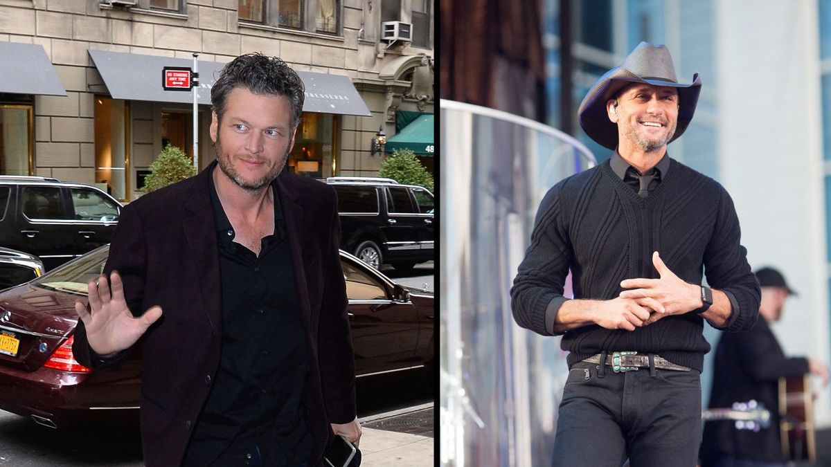 Blake Shelton, Tim McGraw Make People's Sexiest Issue