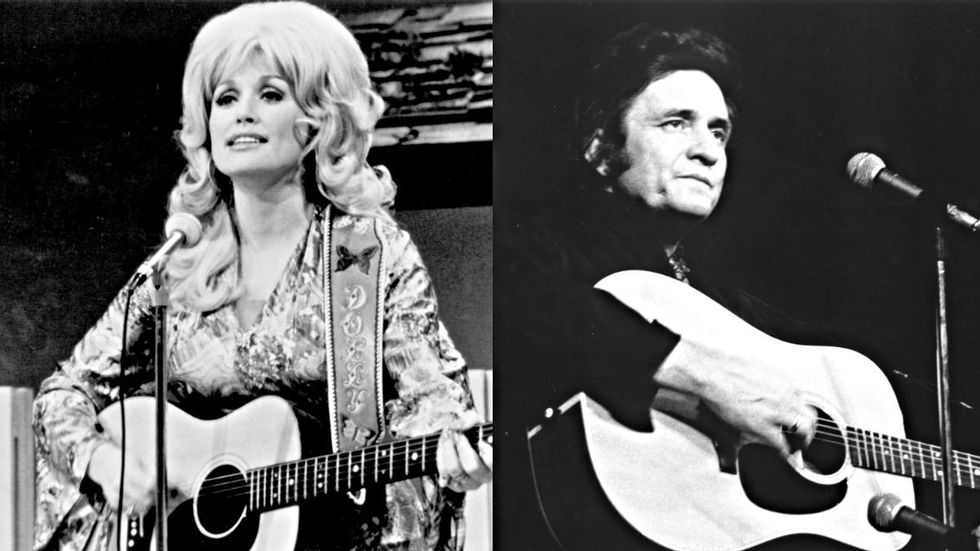 Dolly Parton\'s Revenge and Johnny Cash\'s Last Song to Chart | CMT