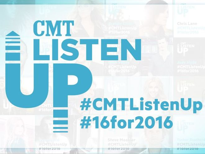 CMT Reveals 16 Artists for Listen Up in 2016 | CMT