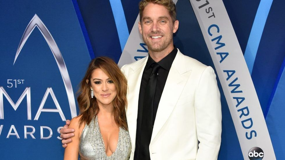 Image result for brett young and taylor mills