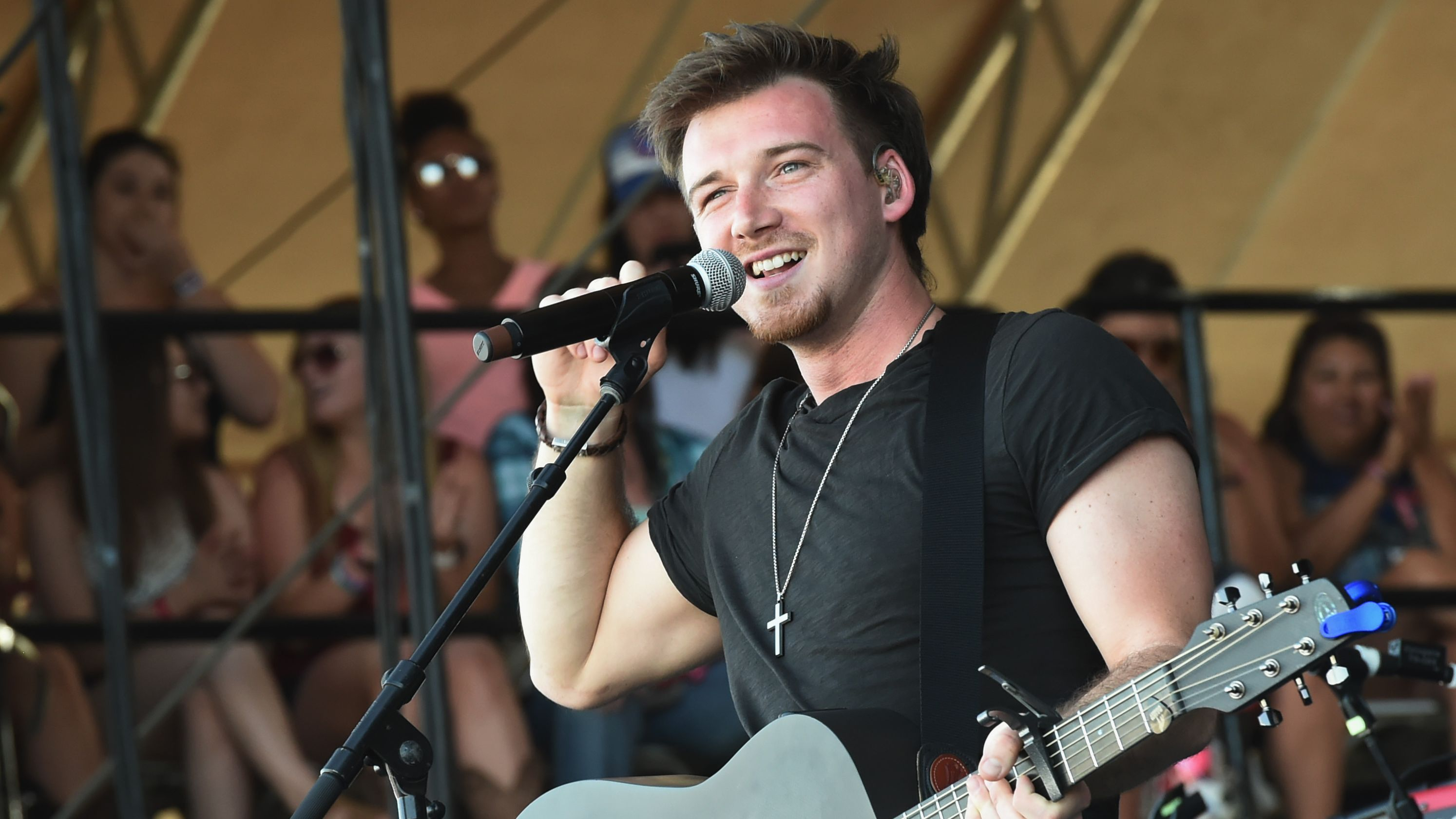 Morgan Wallen Tops Country Airplay Chart With  U201cup Down U201d
