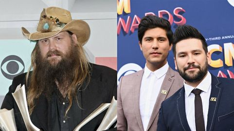 551a3a97132 Chris Stapleton and Dan + Shay Lead 2019 ACM Nominees