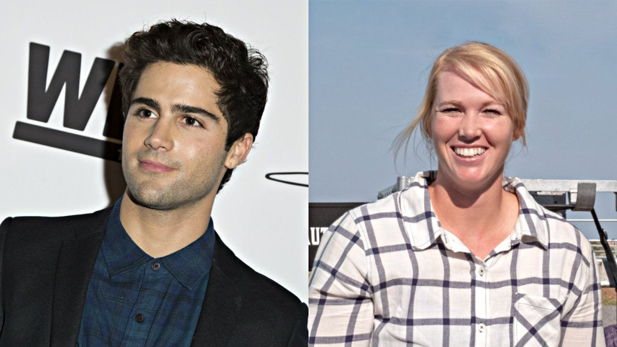 Max Ehrich Brings Out The Songwriter In Amberley Snyder Cmt