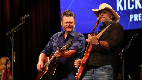 Is There Any Nashville Stage Blake Shelton Didn't Play Last Weekend