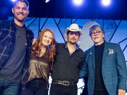 Randy Owen, Brad Paisley, Brett Young and Addie Pratt Close Country Cares with Music and Hope