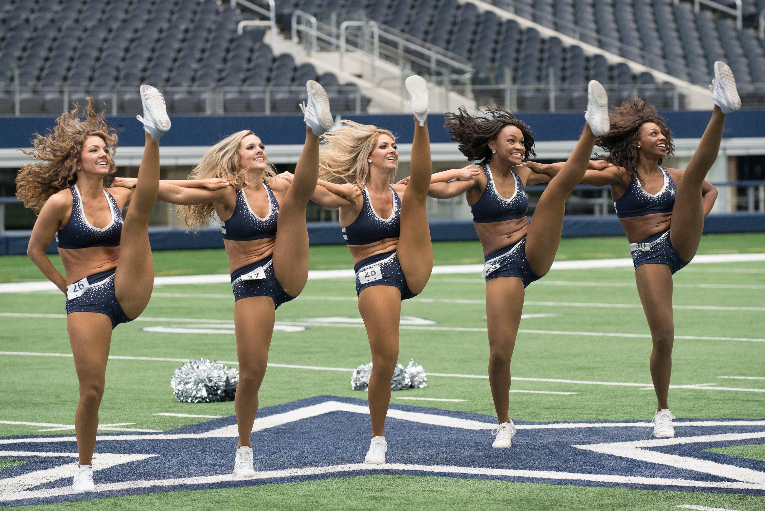 7d53b5208f667 Dallas Cowboys Cheerleaders  Making The Team