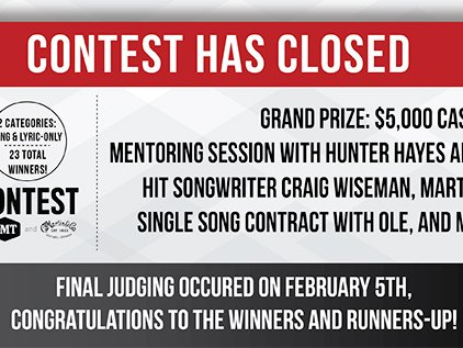 19th Annual NSAI Song Contest presented by CMT