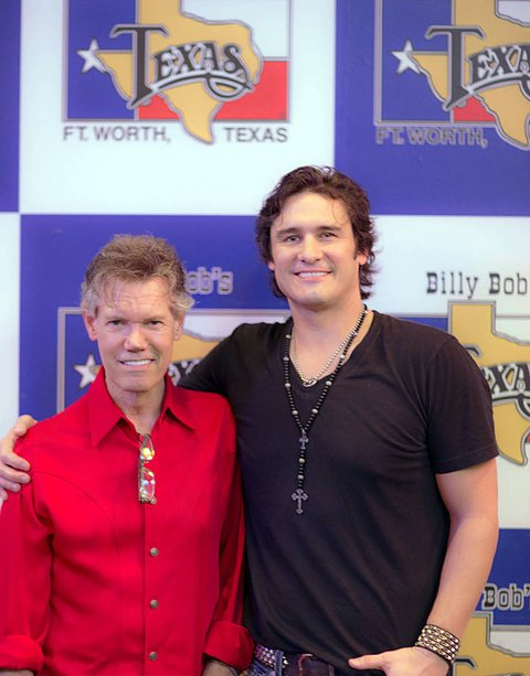 Randy Travis and Joe Nichols