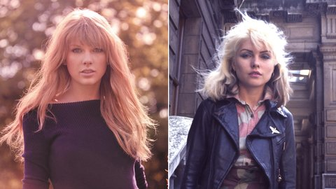 Taylor Swift and Debbie Harry