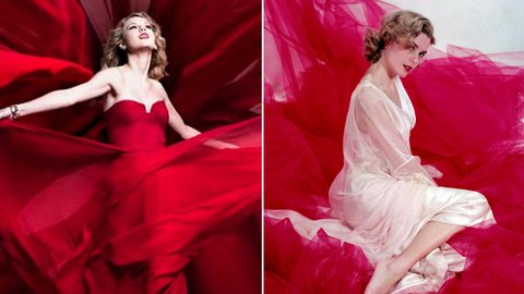 Taylor Swift and Grace Kelly