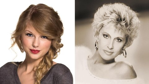 Taylor Swift and Tammy Wynette