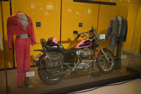 Tanya Tucker's Motorcycle at the Country Music Hall of Fame
