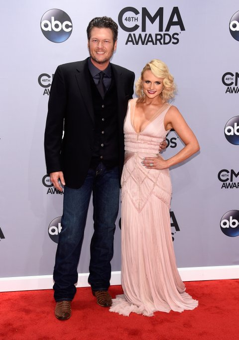 Blake Shelton and Miranda Lambert