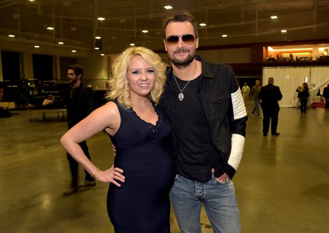 Katherine and Eric Church