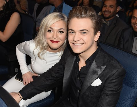 Hunter Hayes at the People's Choice Awards