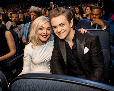 Libby Barnes and Hunter Hayes