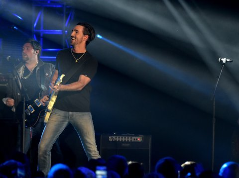 Jake Owen at the CMT Ultimate Kickoff Party
