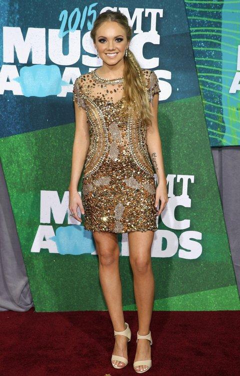 Danielle Bradbery attends the 2015 CMT Music Awards on June 10, 2015, in Nashville.