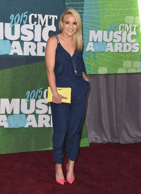 Jamie Lynn Spears attends the 2015 CMT Music Awards on June 10, 2015, in Nashville.