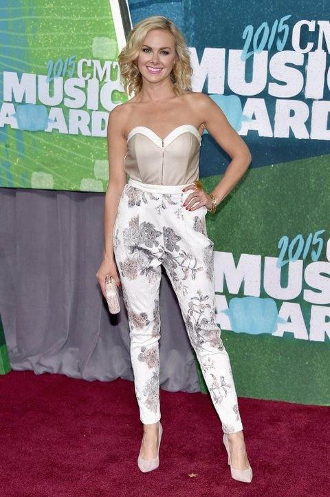 Laura Bell Bundy attends the 2015 CMT Music Awards on June 10, 2015, in Nashville.