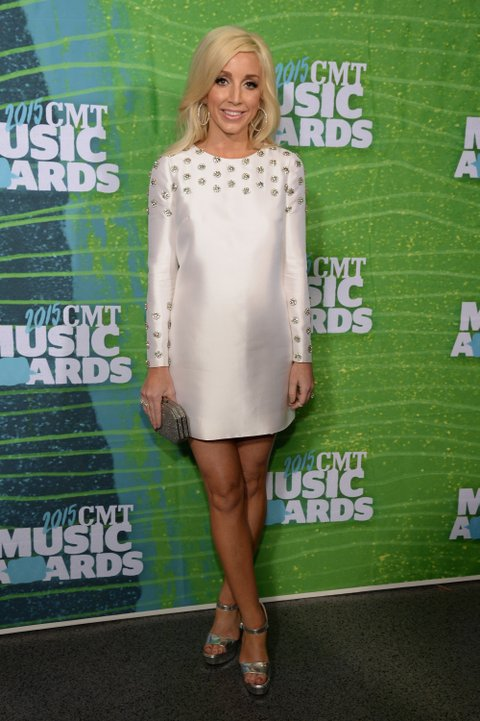 Ashley Monroe attends the 2015 CMT Music Awards on June 10, 2015, in Nashville.