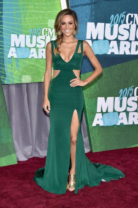 Jana Kramer attends the 2015 CMT Music Awards on June 10, 2015, in Nashville.