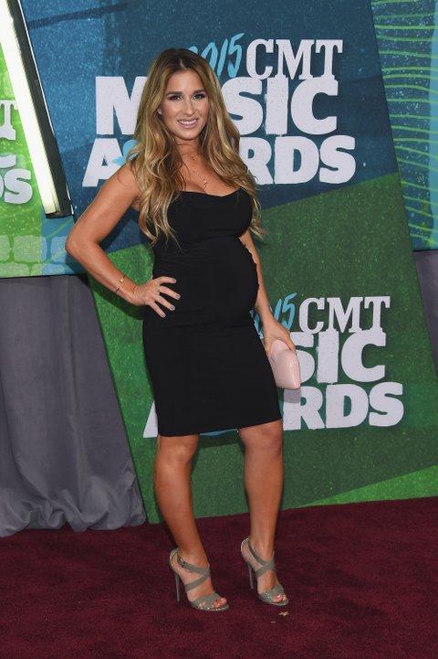 Jessie James Decker attends the 2015 CMT Music Awards on June 10, 2015, in Nashville.