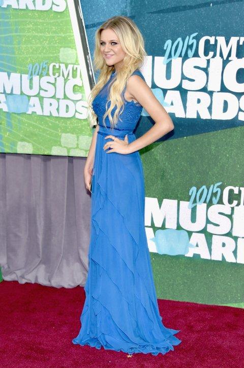 Kelsea Ballerini attends the 2015 CMT Music Awards on June 10, 2015, in Nashville.