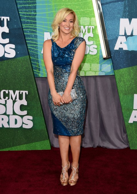 Kellie Pickler attends the 2015 CMT Music Awards on June 10, 2015, in Nashville.