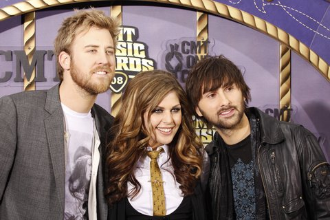 Lady Antebellum at 2008 CMT Music Awards