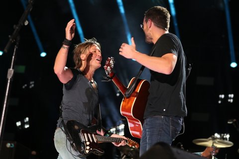 Keith Urban, Eric Church