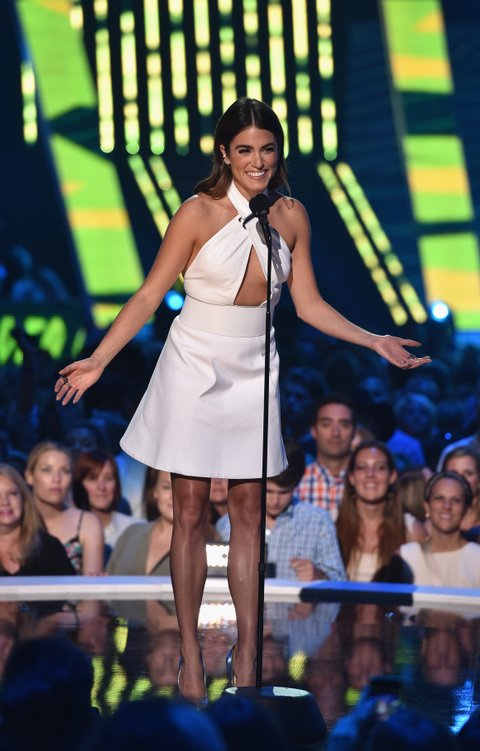 Nikki Reed presents at the 2015 CMT Music Awards on June 10, 2015, in Nashville.