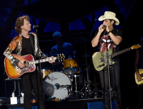 Mick Jagger, Brad Paisley