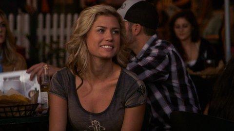 Beth looking at Kenny