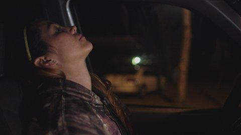 Kerryn in truck