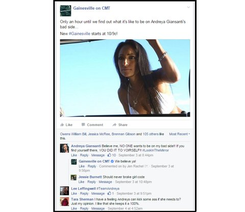 Andreya on Facebook