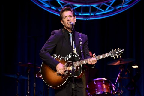 NASHVILLE, TN - SEPTEMBER 01:  Chris Isaak performs onstage during the 9th Annual ACM Honors at the Ryman Auditorium on September 1, 2015 in Nashville, Tennessee.  (Photo by John Shearer/Getty Images for ACM)