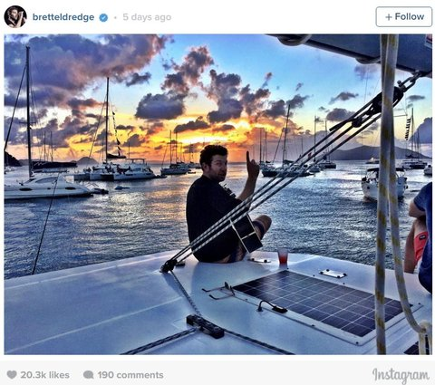 Brett Instagram