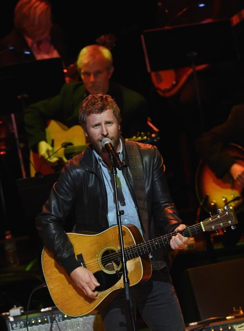 NASHVILLE, TN - OCTOBER 25:  Dierks Bentley performs during The Country Music Hall of Fame 2015 Medallion Ceremony at the Country Music Hall of Fame and Museum on October 25, 2015 in Nashville, Tennessee.  (Photo by Rick Diamond/Getty Images for CMHOF)
