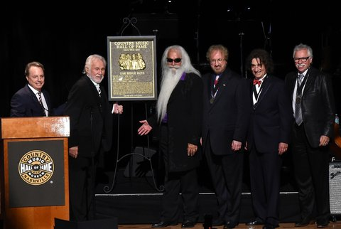 onstage during The Country Music Hall of Fame 2015 Medallion Ceremony at the Country Music Hall of Fame and Museum on October 25, 2015 in Nashville, Tennessee.