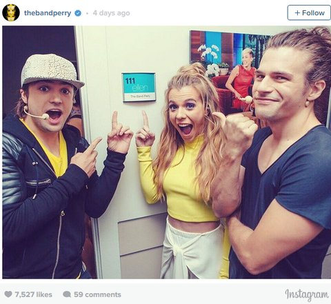 The Band Perry Instagram