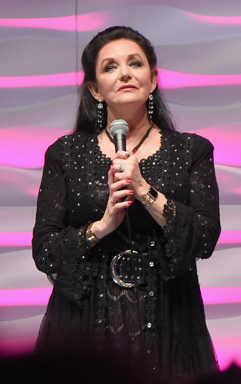 NASHVILLE, TN - NOVEMBER 01:  Crystal Gayle performs onstage during the SESAC 2015 Nashville Music Awards at Country Music Hall of Fame and Museum on November 1, 2015 in Nashville, Tennessee.  (Photo by Michael Loccisano/Getty Images for SESAC)