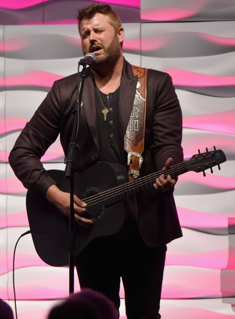 NASHVILLE, TN - NOVEMBER 01:  Randy Houser performs onstage during the SESAC 2015 Nashville Music Awards at Country Music Hall of Fame and Museum on November 1, 2015 in Nashville, Tennessee.  (Photo by Michael Loccisano/Getty Images for SESAC)