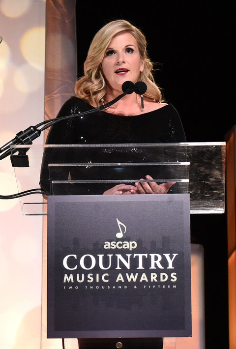 attends the 53rd annual ASCAP Country Music awards at the Omni Hotel on November 2, 2015 in Nashville, Tennessee.