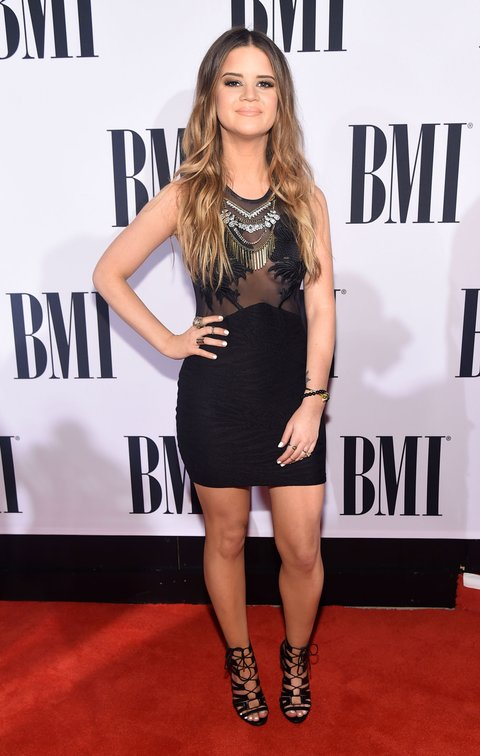 NASHVILLE, TN - NOVEMBER 03: Singer-songwriter Maren Morris attends the 63rd Annual BMI Country awards on November 3, 2015 in Nashville, Tennessee.  (Photo by Michael Loccisano/Getty Images)