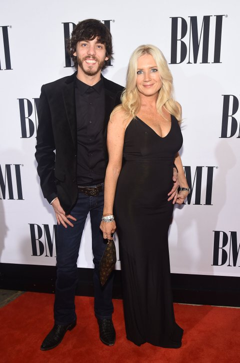 NASHVILLE, TN - NOVEMBER 03: Singer-songwriter Chris Janson and Kelly Lynn attend the 63rd Annual BMI Country awards on November 3, 2015 in Nashville, Tennessee.  (Photo by Michael Loccisano/Getty Images)