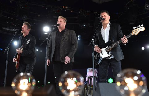 Rascal Flatts onstage during the BMI 2015 Country Awards at BMI on November 3, 2015 in Nashville, Tennessee.