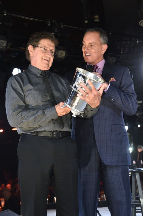 Mac Davis onstage during the BMI 2015 Country Awards at BMI on November 3, 2015 in Nashville, Tennessee.