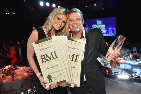 NASHVILLE, TN - NOVEMBER 03:  Singer/songwriter Nicolle Galyon and songwriter Rodney Clawson attend the 63rd Annual BMI Country awards on November 3, 2015 in Nashville, Tennessee.  (Photo by John Shearer/Getty Images for BMI)
